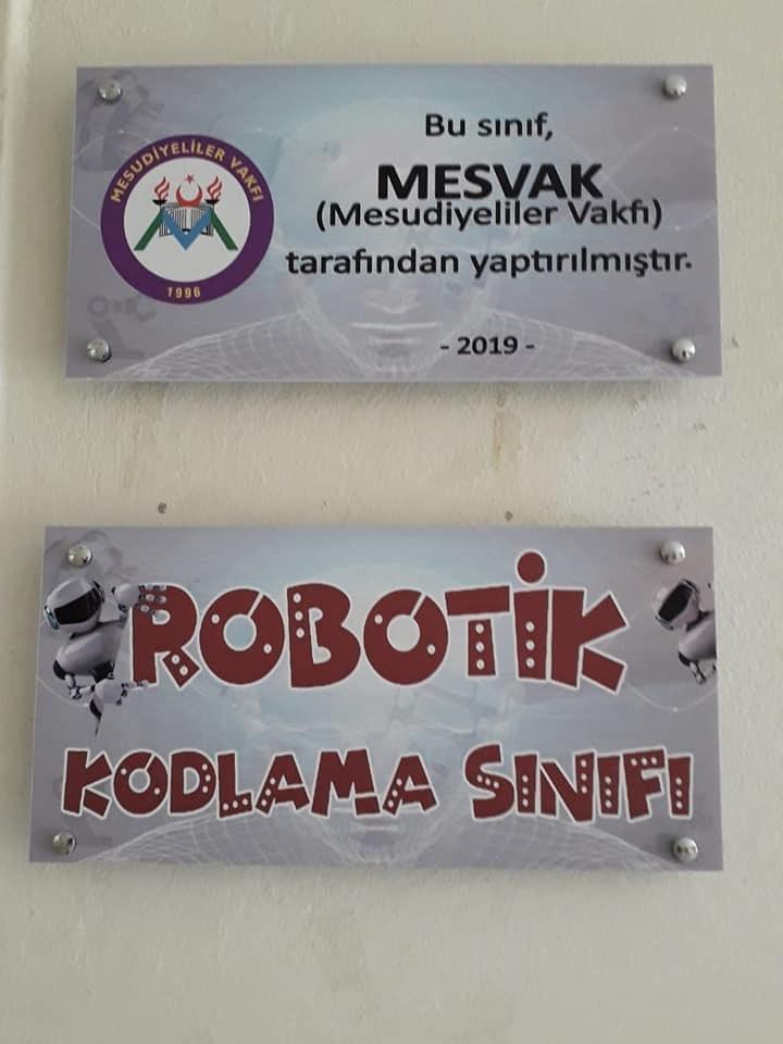 MESVAK'TAN MESUDİYE'DE KODLAMA SINIFI