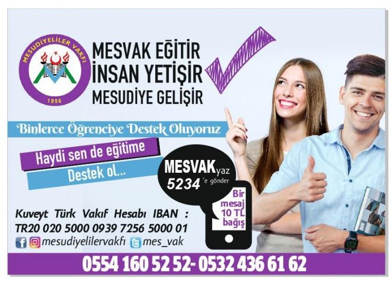 SMS İle Burs Kampanyası